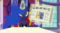 "Princess Luna ""but I wasn't unhappy!"" S7E10"