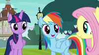 Rainbow -supportive of her practicing- S8E18