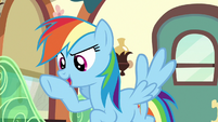 """Rainbow Dash """"exactly what you need to focus!"""" S6E18"""