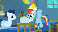 """Rainbow Dash """"fly with the Wonderbolts"""" S6E7"""