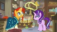 S07E24 Starlight i Sunburst oglądają zabytkowe cegły