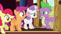 """Spike """"nopony's getting past this dragon"""" S03E11"""