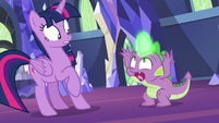 Spike freaking out -what's happening-!- S7E15