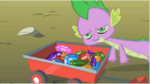 Spike is not amused S1E19