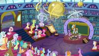 Twilight Sparkle dismisses the students S8E21