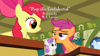Apple Bloom and Scootaloo -such a good idea- S2E23