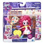 Equestria Girls Minis Pinkie Pie Splashy Art Class Set packaging