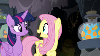 """Fluttershy """"do you think she found it?"""" S7E20"""