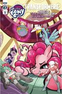 My Little Pony Transformers II issue 3 cover RI