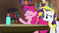 """Pinkie Pie """"cleaned off in no time!"""" S7E19"""