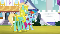 """Rainbow """"you're real guard material"""" S9E4"""