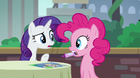 """Rarity """"The Cantering Cook isn't that kind of restaurant!"""" S6E3"""