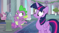 """Spike """"she does have a point"""" S9E3"""