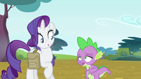 Spike with slight indigestion S4E23