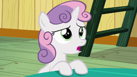 "Sweetie Belle ""we've never ever heard of it"" S6E19"