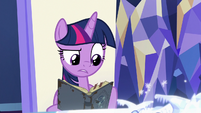 Twilight Sparkle reading another journal entry S7E25