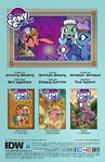 Legends of Magic issue 5 credits page