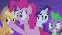 """Pinkie Pie """"follow that bat!"""" S4E07"""