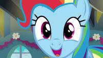 """Rainbow """"good morning, everypony!"""" S6E7"""
