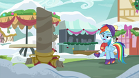 """Rainbow Dash """"what do you want, Discord?"""" MLPBGE"""