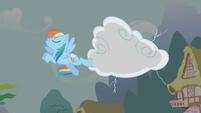 Rainbow Dash Thunder Kick S1E5