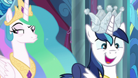 """Shining Armor """"to a whole new level"""" S9E4"""