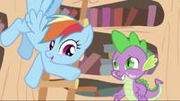 Spike and Rainbow S2E20