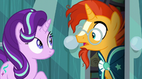 "Sunburst surprised ""the Princess of Friendship?"" S6E1"