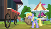 Sunshower Raindrops and Cloud Kicker with paper bags S4E22