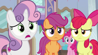 "Sweetie Belle ""we're not in trouble?"" S8E12"