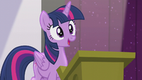 "Twilight ""one day I'd give a speech"" S5E25"