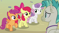 """Apple Bloom """"it's hard for you to decide"""" S8E6"""