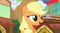 """Applejack """"show even those two con-ponies kindness"""" S6E20"""