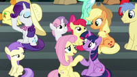 """Fluttershy """"done getting their snacks"""" S6E7"""