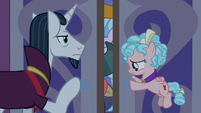 Neighsay and Cozy opening the doors S8E25