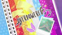 Overpowered title card EGDS5