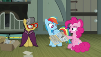 """Pinkie Pie """"they're mad at Daring Do"""" S7E18"""