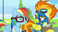 """Rainbow """"pre-flight checklists could really help"""" S6E7"""