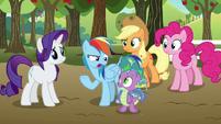 """Rainbow Dash """"actually needed their help"""" S9E13"""