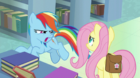 """Rainbow Dash """"who does that?!"""" S9E21"""