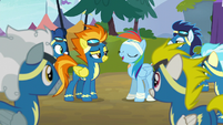 Rainbow Dash --time to be okay with fitting in-- S6E7