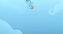 Rainbow about to save Rarity S1E16