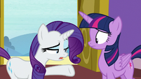"""Rarity """"I suppose it's possible"""" S9E19"""