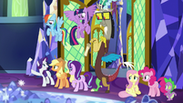 """Rarity """"dispelled him into the ether!"""" S9E1"""