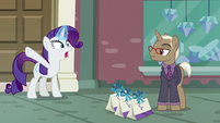 """Rarity """"emergency at the boutique"""" S8E4"""