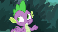 "Spike ""dragon flame and baked goods"" S9E23"