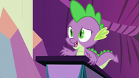 """Spike """"each day was super draining"""" S8E7"""