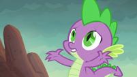 Spike --those boulders are huge!-- S6E5