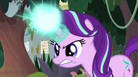Starlight angrily channeling her magic S9E20
