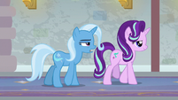"Trixie ""I can only assume is Twilight's office"" S9E20"